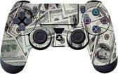 GameID PS4 Dualshock 4 Controller Skin Sticker - 100 Dollar Bills