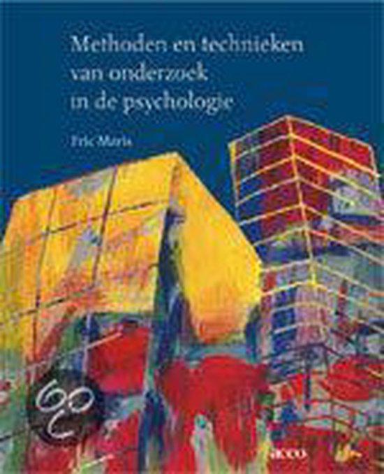 Methoden en technieken van onderzoek in de psychologie - Maris E. |