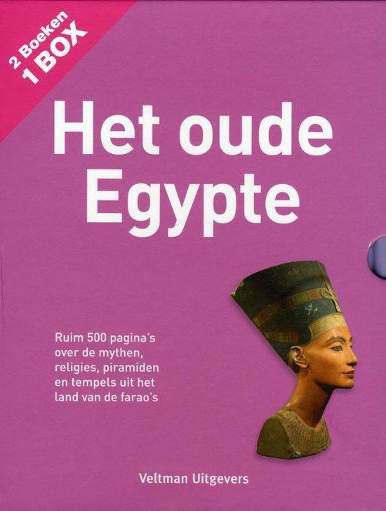 Cover van het boek 'Boekenbox: het oude Egypte'