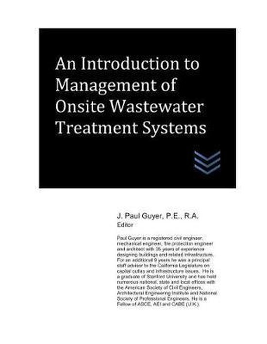 An Introduction to Management of Onsite Wastewater Treatment Systems