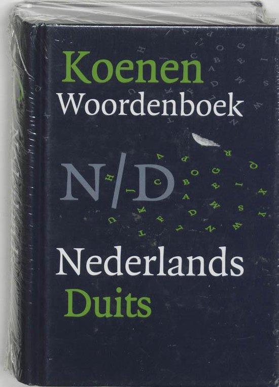 Koenen Woordenboek Nederlands-Duits - Onbekend |