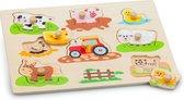 New Classic Toys - Knoppuzzel - Boerderij
