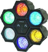 Ibiza Light JDL034LED Zwart stroboscoop- & discolamp