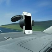Telefoonhouder auto | Universeel | Zuignap |Mobiele telefoonhouder | Telefoon accessoires | Mobiele telefoon houder zwart