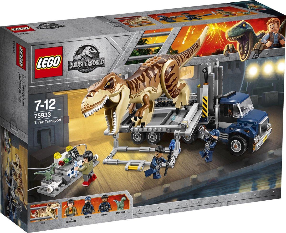 LEGO Jurassic World T-Rex Transport - 75933