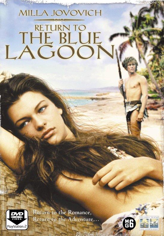 Cover van de film 'Return To The Blue Lagoon'