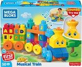Mega Bloks First Builders ABC Leren  Speelgoedtrein - Constructiespeelgoed