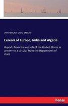 Cereals of Europe, India and Algeria