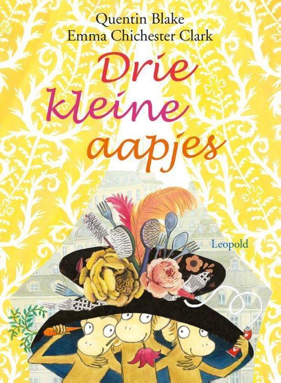 Drie kleine aapjes - Quentin Blake | Readingchampions.org.uk
