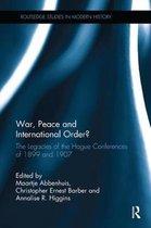 Omslag War, Peace and International Order?