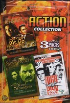 Action Collection vol. 2 bevat de films: The Yin and Yang of Mr. Go, All The Kind Strangers, High Risk