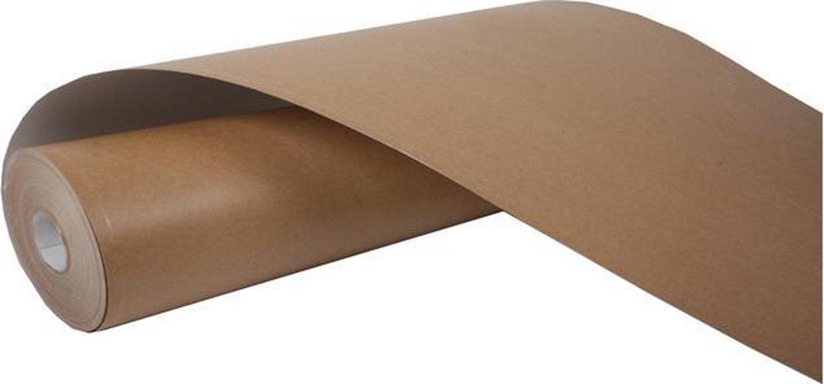 Stucloper 130 cm x 50 meter Vloerbescherming 60m2 Rol vloer karton - YouPack