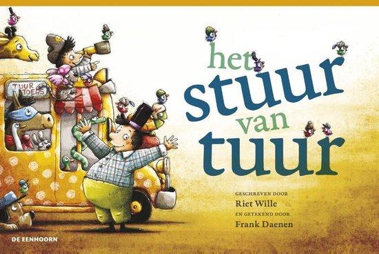 Boek cover het stuur van tuur van Riet Wille (Hardcover)