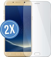 2 stuks sterke screenprotectors voor Samsung Galaxy A5 2017 2.5D 9H tempered glass