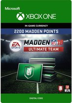 Madden NFL 18 - 2.200 Madden Ultimate Team Punten - Xbox One