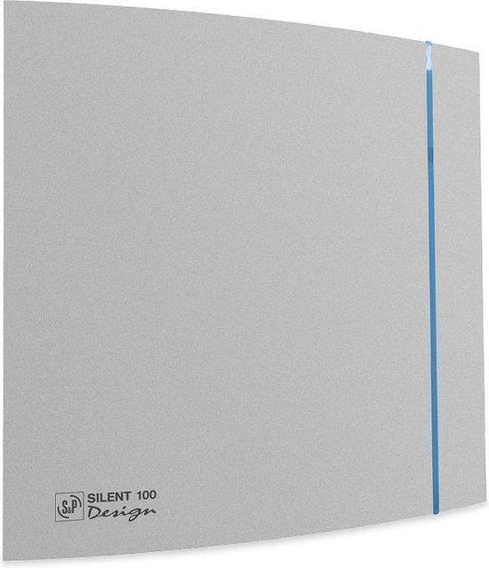 Soler & Palau Silent badkamerventilator Design 200crz zilver