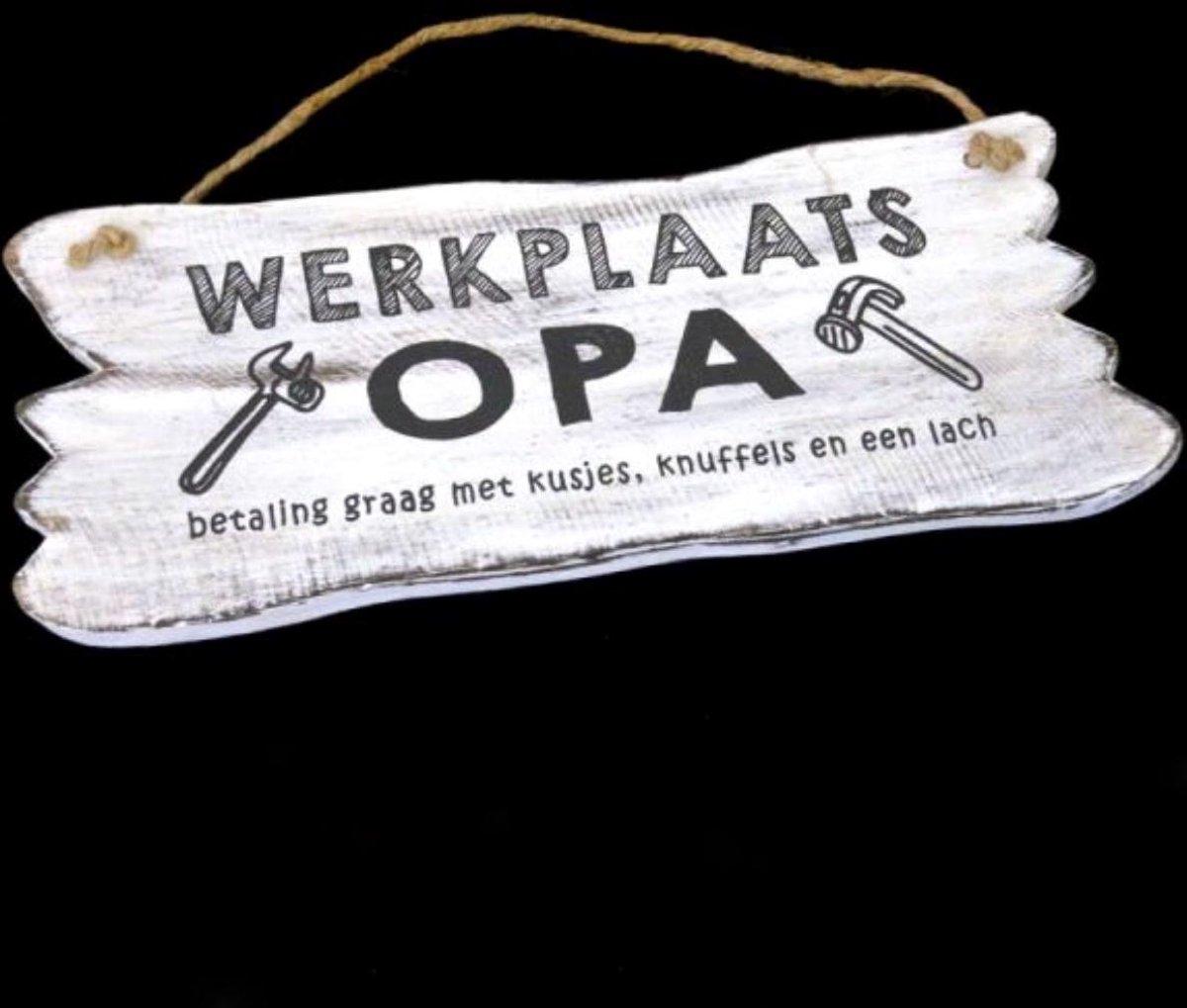 Wandborden Werkplaats Opa - Hout
