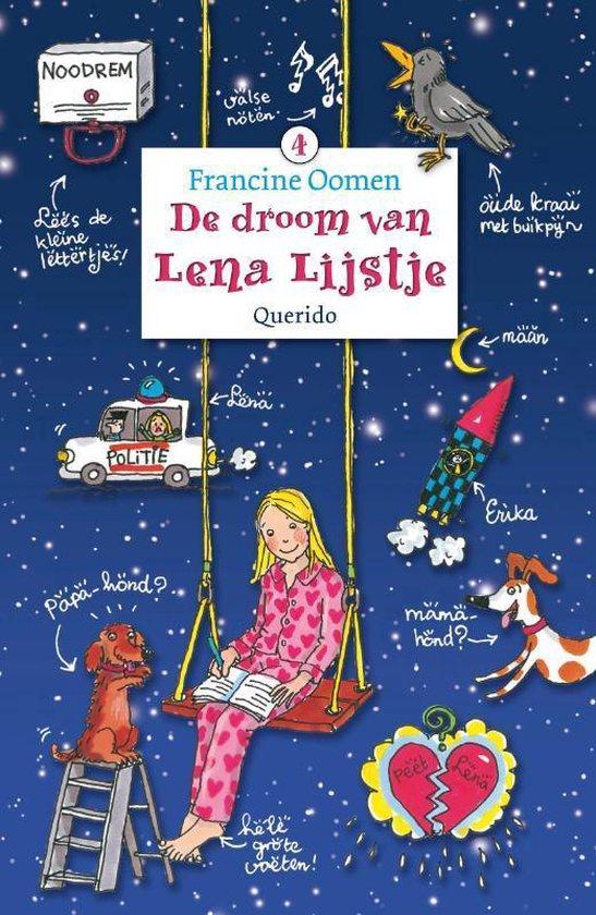 Boek cover De droom van Lena Lijstje van Francine Oomen (Hardcover)