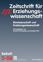 Boek cover Biowissenschaft Und Erziehungswissenschaft van Onbekend