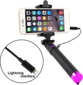 Selfie stick voor Smartphone - licht gewicht voor iPhone 7 (Plus) / iPhone 8 (Plus) / iPhone X / iPhone XS (Max) / iPhone XR / iPhone 11 (Pro / Pro Max) / iPhone 12 (Mini, Pro & Pro Max)