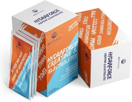 HydraForce – Electrolytes, Creatine en Vitamine C