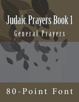Judaic Prayers Book 1