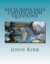 SAP S4 Hana Sales Certification Questions