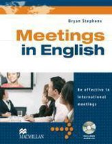 Business English: Meetings in English. Student's Book with Audio-CD