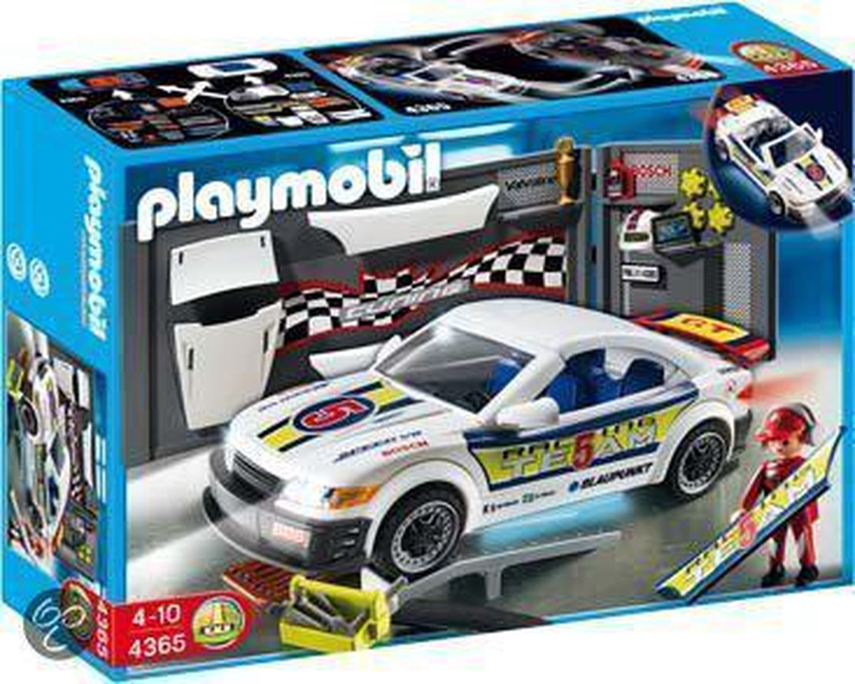 Playmobil Tuning Race-Auto Met Licht - 4365