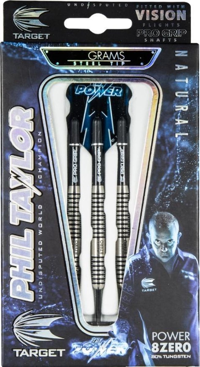 Target - Phil 'The Power' Taylor 8ZERO - 23 gram - dartpijlen
