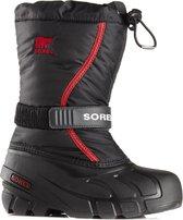 Sorel - Snowboots - Jongens & Meisjes - Zwart/Rood - Maat 32