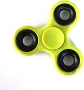 1 x Super Fidget Spinner – Geel - Hand Spinner Draaier - Stress verminderende Speel Spinner - Stress Spinner Handspinner