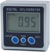 DW4Trading® Digitale hoekmeter inclinometer meetbereik 0-360° Zaagmachine