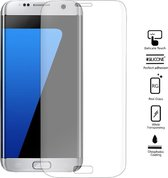 Full Curved Transparent 3D Tempered Glass Screenprotector Samsung Galaxy S7 Edge - Transparent