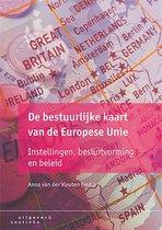 Boek cover De bestuurlijke kaart van de Europese Unie van Anna van der Vleuten