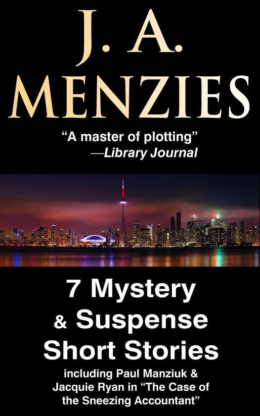 Omslag van 7 Mystery & Suspense Short Stories