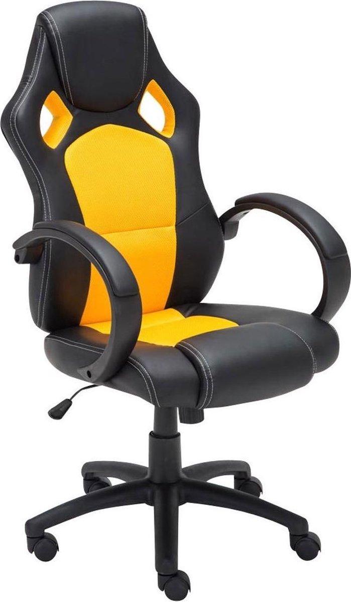 Clp FIRE - gaming stoel - kunstleer - geel