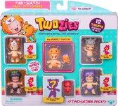 Twozies Vriendjes (6 baby's + 6 dieren)