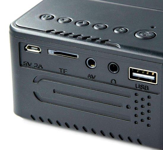Silvergear Mini LCD Projector - Mini Beamer - Compact en Draagbaar - 320 x 240mm