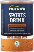 Maxim Hypotonic Sports Drink - Fresh Orange - 480 gram