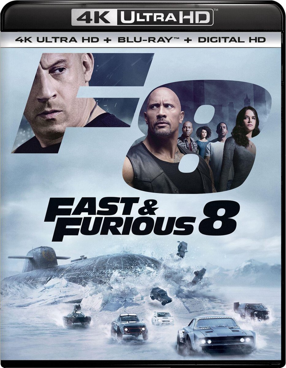 Fast & Furious 8 - The Fate of the Furious (4K Ultra HD Blu-ray)-