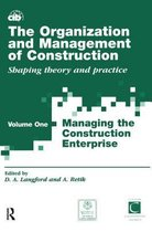 The Organization and Management of Construction: v.1
