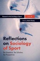 Boek cover Reflections on Sociology of Sport van