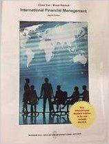 Boek cover International Finance 8e ed van Cheol Eun (Paperback)