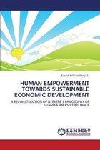 Human Empowerment Towards Sustainable Economic Development