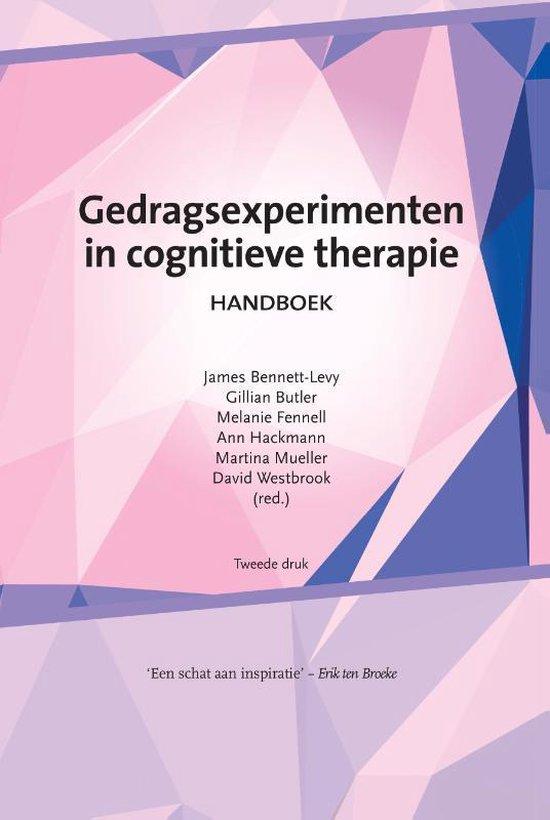 Boek cover Gedragsexperimenten in cognitieve therapie van James Bennett-Levy (Paperback)