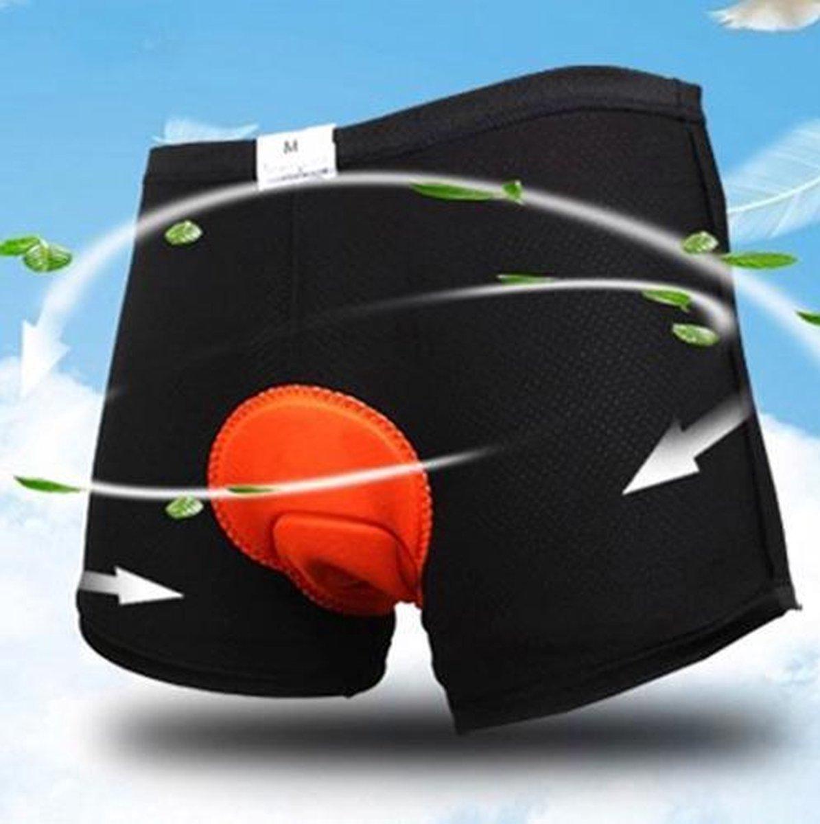 Fiets onderbroek met zeem - unisex-XL