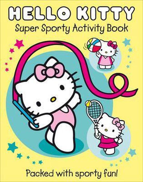 Boek cover Super Sporty Hello Kitty (Hello Kitty) van Onbekend (Paperback)