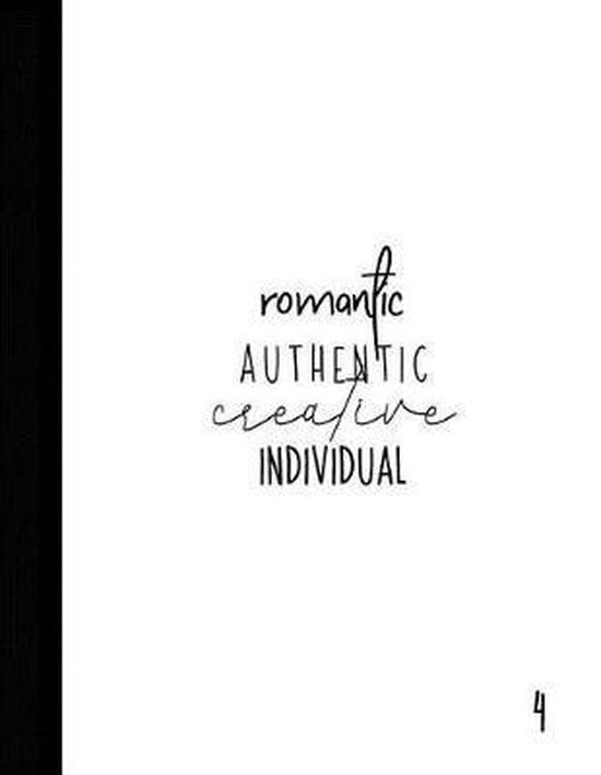 Romantic Authentic Creative Individual