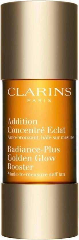 Clarins Radiance-Plus Golden Glow Booster Zelfbruiner voor gezicht - 15 ml